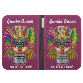 Festival Gumbo Queen View Hints please Kindle Cases