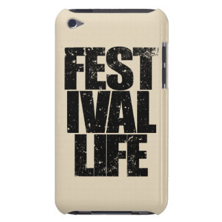 FESTIVAL LIFE (blk) iPod Touch Cover