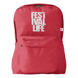 FESTIVAL LIFE (wht) Backpack