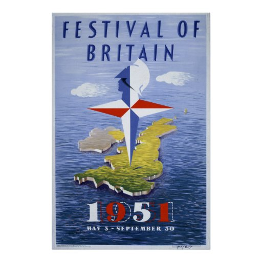 Festival of Britain Poster