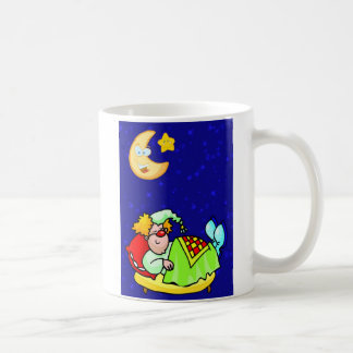 Festival of Sleep Day Sleeping Clown Coffee Mugs