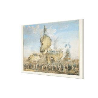 Festival of Supreme Being at the Canvas Print