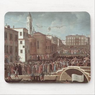 Festival of the Blessed Virgin Mary on Santa Mouse Mat