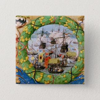 Festival of the Portuguese Fleet 15 Cm Square Badge