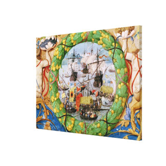 Festival of the Portuguese Fleet Canvas Print