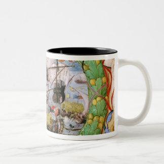 Festival of the Portuguese Fleet Two-Tone Coffee Mug