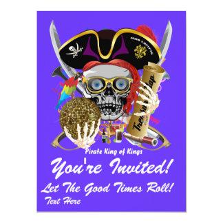 Festival Party Theme  Please View Notes 17 Cm X 22 Cm Invitation Card
