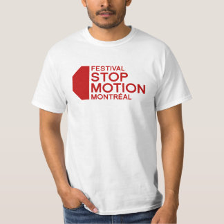 Festival Stop Motion Montreal - 8th edition T-Shirt