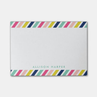 Festival Stripes Post-it Notes