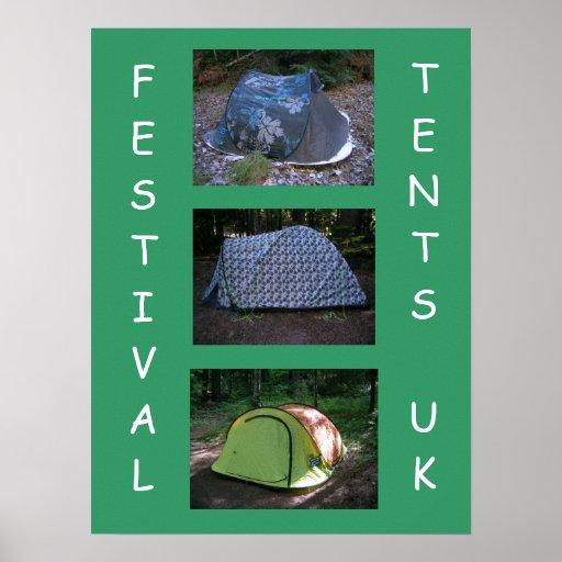 Festival Tents Print