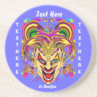 Festival View large in design Please View Notes Drink Coaster