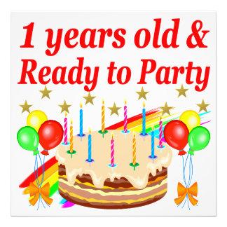 FESTIVE 1ST BIRTHDAY PARTY DESIGN PHOTO