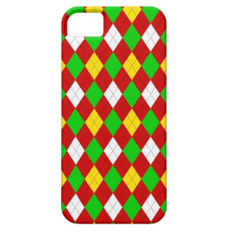 Festive Argyle Barely There iPhone 5 Case