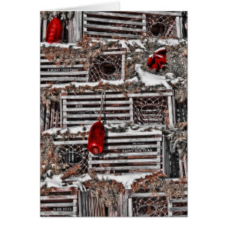 Festive Blend Christmas Card