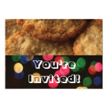 Festive Bright Holiday Cookie Exchange Party Personalized Invitation