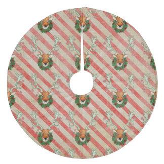 Festive Buck Christmas Tree Skirt