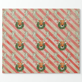 Festive Buck Wrapping Paper
