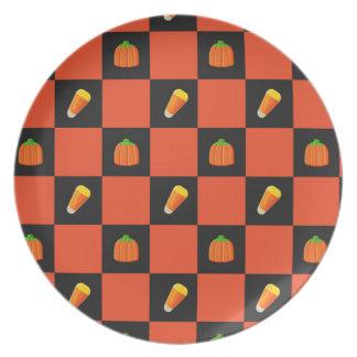 Festive Candy Corn Plate