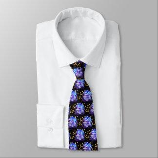 Festive chic tie
