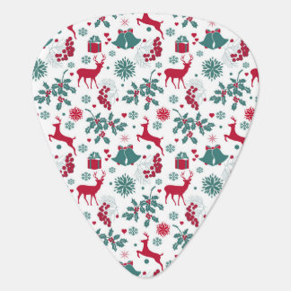Festive Christmas holidays theme illustration Plectrum