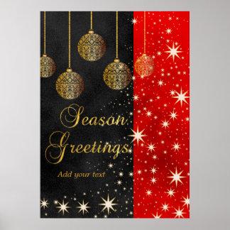 Festive Christmas Poster