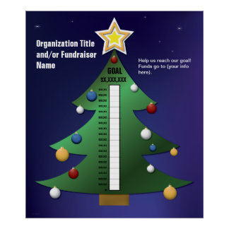 Festive Christmas Tree Chart