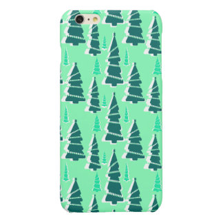 Festive Christmas Tree Forest iPhone 6 Plus Case