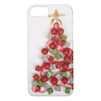 Festive Christmas Tree iPhone 7 Case