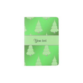 Festive Christmas Trees Passport Holder