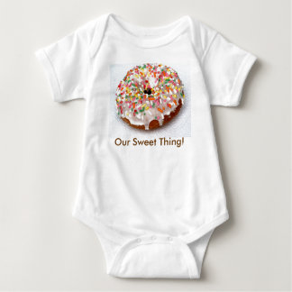 Festive Donut Baby Bodysuit