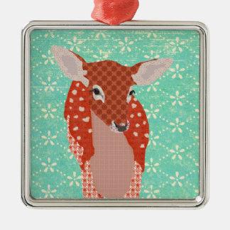 Festive Fawn III Ornament