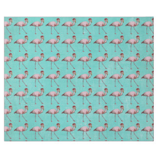 FESTIVE FLAMINGO Wrapping Paper