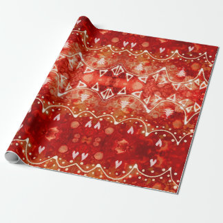 Festive Garlands Christmas Wrapping Paper