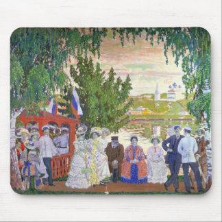 Festive Gathering, 1910 Mouse Pad
