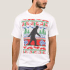 Festive Gone Squatchin Ugly Christmas Sweater Knit