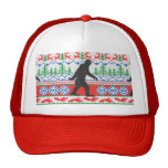 Festive Gone Squatchin Ugly Christmas Sweater Knit Cap
