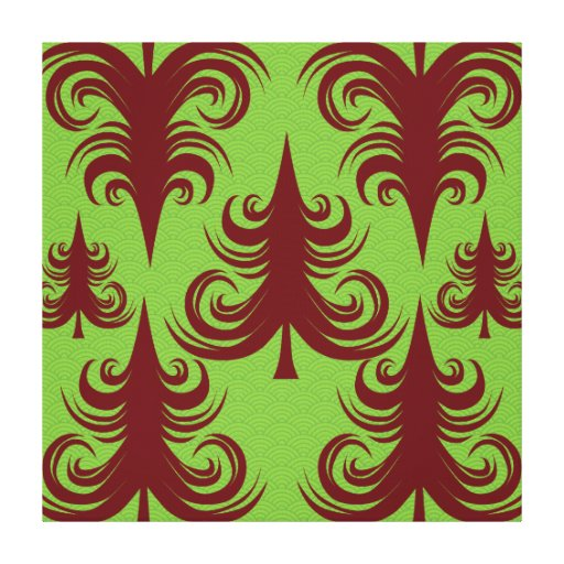 Festive Holiday Christmas Tree Xmas Design Canvas Prints