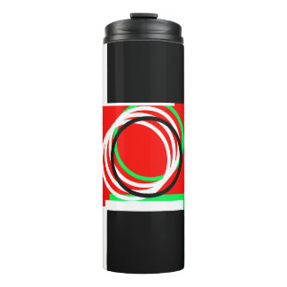 Festive Holiday Colors 4Mickey Thermal Tumbler