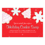 Festive Holiday Cookie Swap Party Invitation