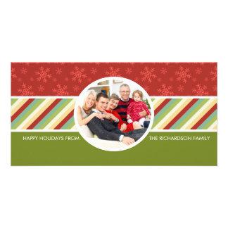 Festive Holiday Family Photo Cards