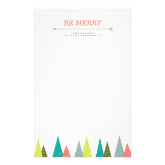 Festive Holiday Forest Stationery