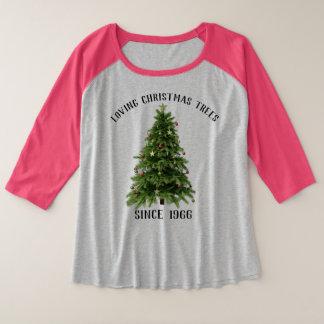 Festive Holiday Shirt Loving Christmas Trees Since
