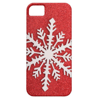 Festive Holiday Snow iPhone 5 Cover