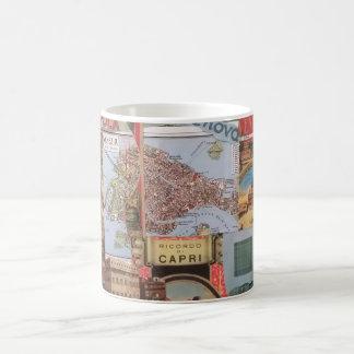 Festive Italian Collage Mug