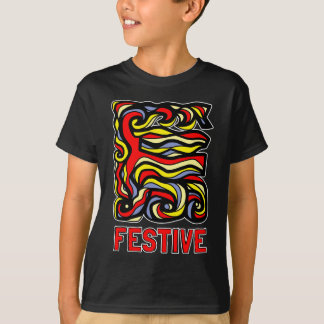 """Festive"" Kids' Hanes TAGLESS® T-Shirt"