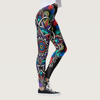 Festive Mandala Leggings