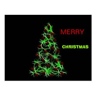 Festive merry Christmas Cards Postcard