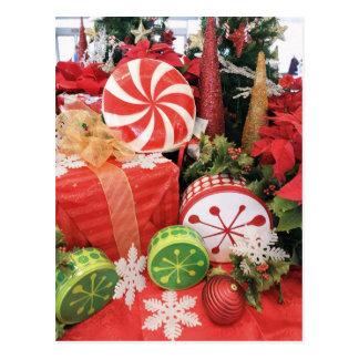 Festive Merry Christmas Design Post Cards