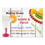 Festive Mexican Fiesta Couple's Wedding Shower Custom Invites