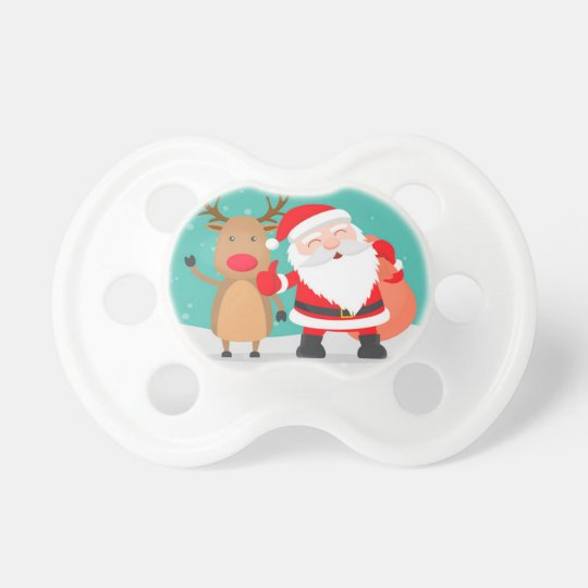 Festive pacifier for the christmas season 2018